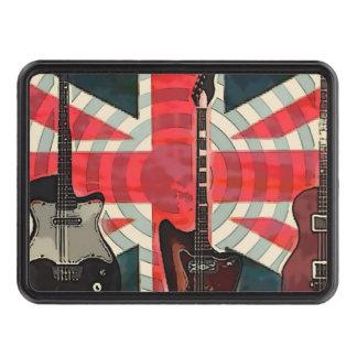 bristish flag guitar UK union jack fashion Hitch Covers