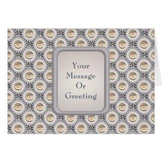 Bristle Dot Greeting Card