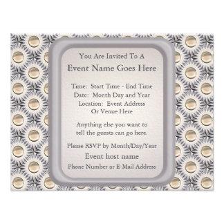 Bristle Dot Personalized Invite