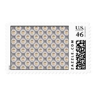 Bristle Dot Postage Stamps