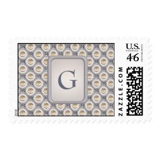 Bristle Dot Postage Stamp