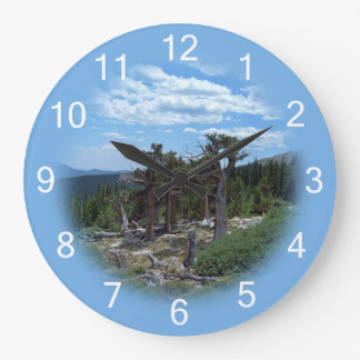 Bristlecone Pine Tree Large Clock