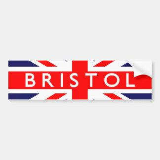 Bristol: Bandera británica Pegatina Para Auto