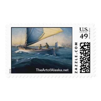 Bristol Bay, 1935. Postage