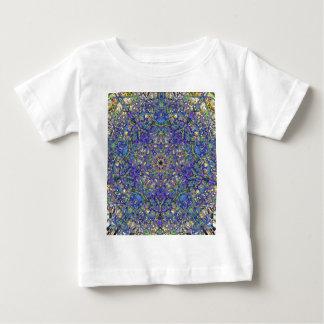 Bristol Blue Glass Pattern Baby T-Shirt