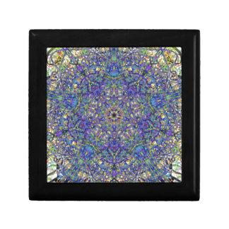 Bristol Blue Glass Pattern Gift Box