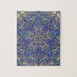 Bristol Blue Glass Pattern Jigsaw Puzzle