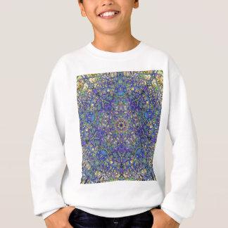 Bristol Blue Glass Pattern Sweatshirt