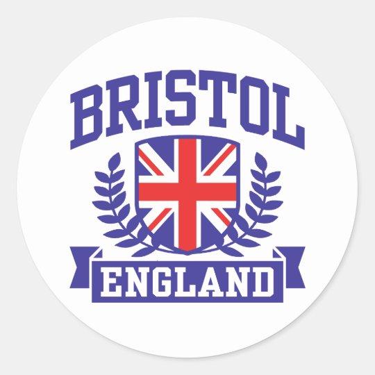 Bristol Classic Round Sticker