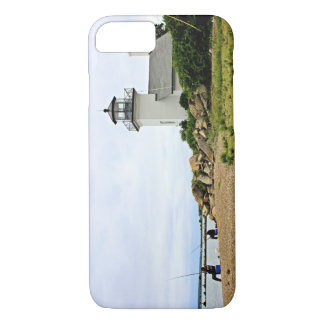 Bristol Ferry Lighthouse, Rhode Island iPhone 7 Case