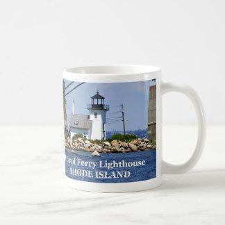 Bristol Ferry Lighthouse, Rhode Island Mug