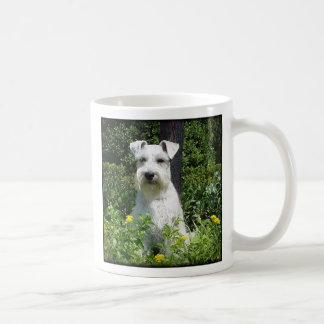 Bristol - Happiness is an adopted Schnauzer! Mug