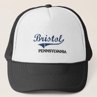 Bristol Pennsylvania City Classic Trucker Hat