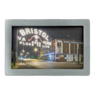 Bristol Sign Belt Buckle