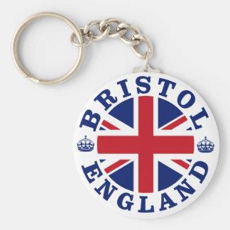 Bristol Vintage UK Design Keychain