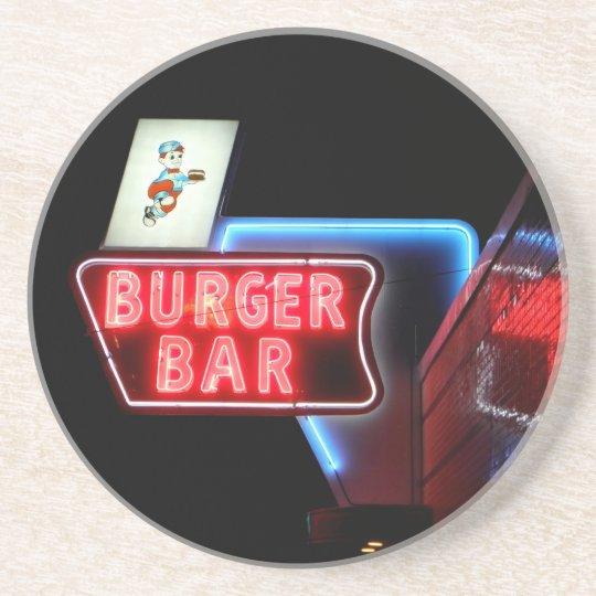 Bristol Virginia Burger Bar Coaster
