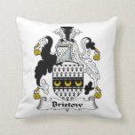 Bristow Family Crest Pillows