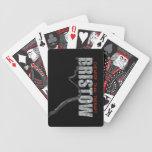 BRISTOW ROCKS Playing Cards