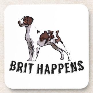 Brit Happens - Brittany Beverage Coaster