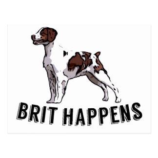 Brit Happens - Brittany Postcard