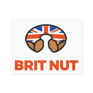 Brit Nut Canvas Print