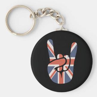 Brit Rock Hand Keychain