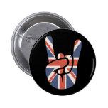 Brit Rock Hand Pin