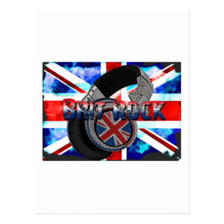 Brit Rock Postcard
