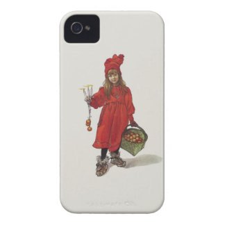 Brita as Iduna Little Swedish Girl Carl Larsson Case-Mate iPhone 4 Case