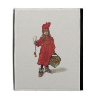 Brita as Iduna Little Swedish Girl Carl Larsson iPad Folio Cover