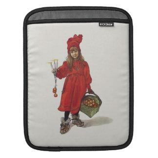 Brita as Iduna Little Swedish Girl Carl Larsson iPad Sleeve