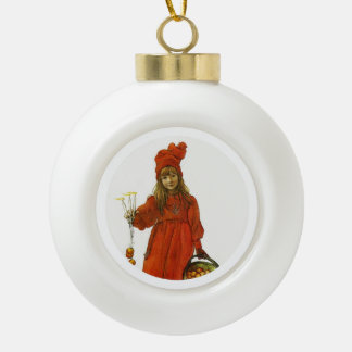 Brita as Iduna Ceramic Ball Christmas Ornament