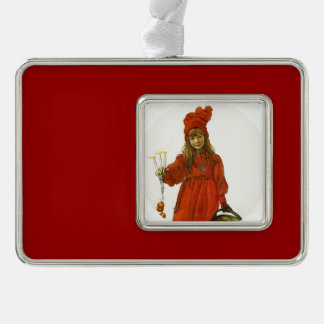 Brita as Iduna Silver Plated Framed Ornament