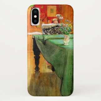 Brita at the Piano by Carl Larsson iPhone X Case