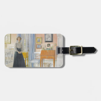 Brita Beside a Writing Desk Tag For Bags