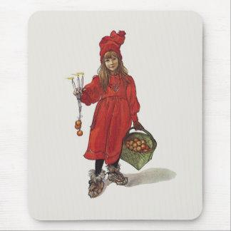 Brita como Iduna del artista sueco Carl Larsson Tapete De Ratones