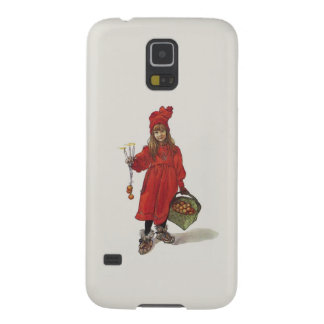 Brita como pequeño chica sueco Carl Larsson de Carcasas De Galaxy S5