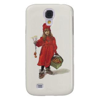 Brita como pequeño chica sueco Carl Larsson de Funda Para Galaxy S4