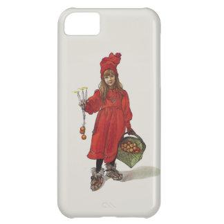 Brita como pequeño chica sueco Carl Larsson de Funda Para iPhone 5C