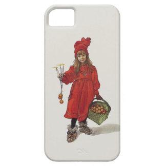Brita como pequeño chica sueco Carl Larsson de iPhone 5 Carcasas