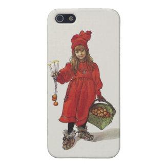 Brita como pequeño chica sueco Carl Larsson de iPhone 5 Funda