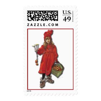 Brita de Carl Larsson como Iduna Sellos Postales