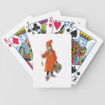 Brita (Iduna) with Candles and  Apples Bicycle Playing Cards