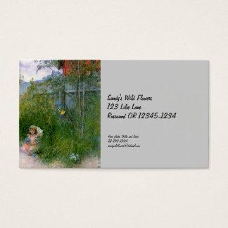 Brita in the Flowerbed Business Card