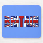 Britain 2012 flag mouse pad