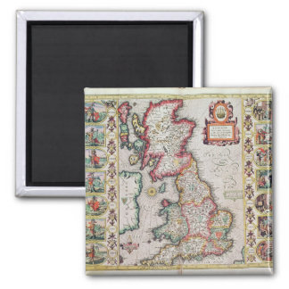 Britain As It Was Devided In The Tyme Magnet