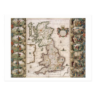 Britain As It Was Devided In The Tyme of the Engli Post Cards