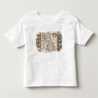 Britain As It Was Devided In The Tyme of the Engli T Shirt