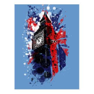 Britain Big Ben Postcard