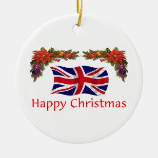 Britain Christmas Ceramic Ornament